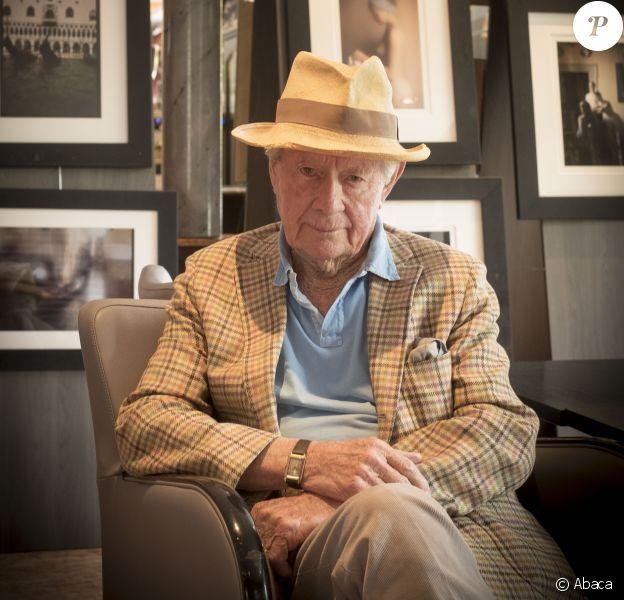 David Hamilton lors d'une séance photo réalisée en 2016.