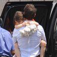 Tom Cruise et sa fille Suri à New York le 18 juillet 2012