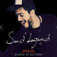 Saad Lamjarred doit être en concert à Paris le 29 octobre 2016.