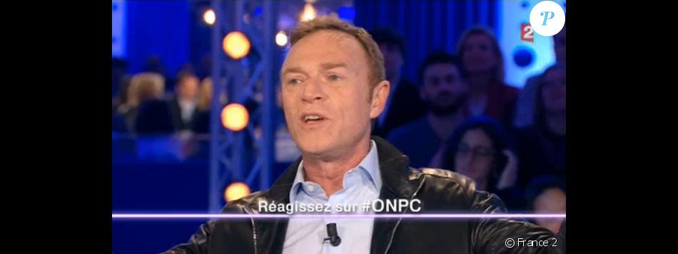"""Christophe Hondelatte tacle Audrey Pulvar dans """"On n'est pas couché"""" sur France 2 le 22 octobre 2016."""