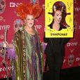 Bette Midler et Kathy Griffin à la soirée caritative Halloween 2016 to benefit The New York Restoration Project à New York, le 28 octobre 2016 © Sonia Moskowitz/Globe Photos via Zuma/Bestimage