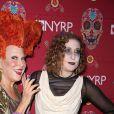 Bette Midler et sa fille Sophie Von Haselberg à la soirée caritative Halloween 2016 to benefit The New York Restoration Project à New York, le 28 octobre 2016 © Sonia Moskowitz/Globe Photos via Zuma/Bestimage