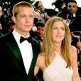 Brad Pitt et Jennifer Aniston au 57e Festival de Cannes le 13 mai 2004