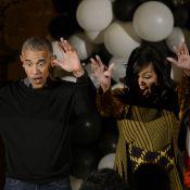 Barack et Michelle Obama s'offrent une danse sur Thriller pour Halloween !