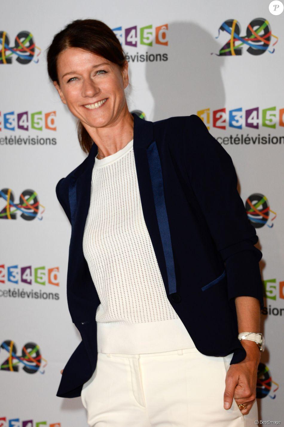 Carole Gaessler au photocall de France Télévisions, pour la présentation de la nouvelle dynamique 2016-2017, à Paris, le 29 juin 2016. © Guirec Coadic/Bestimage