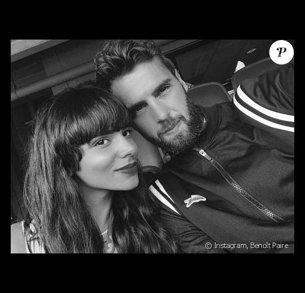 Benoît Paire pose avec Shy'm sur Instagram.