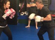 Demi Lovato face à Sylvester Stallone : Un combat de boxe surprenant !