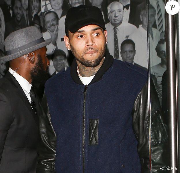 Chris Brown à Los Angeles, le 11 octobre 2016.