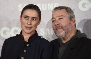 Philippe Starck : Le Français honoré devant son épouse