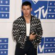 Nick Jonas assiste à la cérémonie des MTV Video Music Awards 2016 organisée au Madison Square Garden de New York le 28 août 2016.