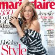 Jennifer Aniston en couverture de Marie Claire.