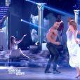 """Laurent Maistret et Denitsa Ikonomova - """"Danse avec les stars 7"""" sur TF1. Le 10 novembre 2016."""