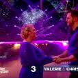 """Valérie Damidot et Christian Millette - """"Danse avec les stars 7"""" sur TF1. Le 10 novembre 2016."""