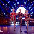 """Shy'm et Maxime Dereymez - """"Danse avec les stars 7"""" sur TF1. Le 10 novembre 2016."""