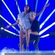 """Karine Ferri et Yann-Alrick Mortreuil - """"Danse avec les stars 7"""" sur TF1. Le 10 novembre 2016."""