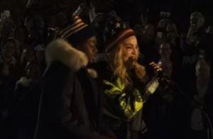 Madonna : Son concert improvisé en soutien à Hillary Clinton en plein New York
