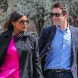 Exclusif - Mindy Kaling et B.J. Novak se promènent dans les rues de New York, le 22 avril 2015