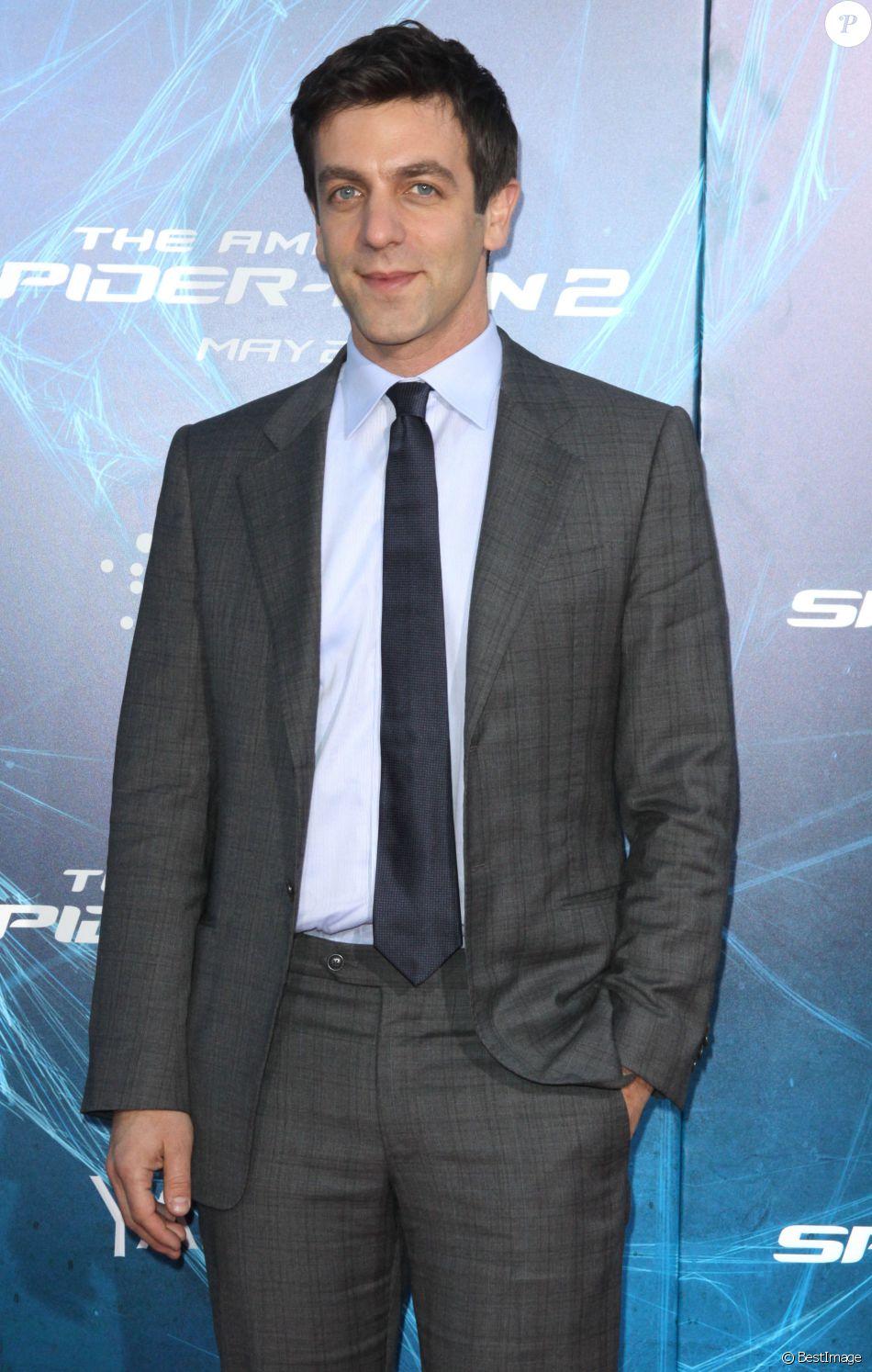 B.J. Novak à la première de «The Amazing Spider-Man 2» à New York, le 24 avril 2014