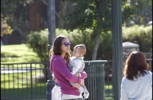 PHOTOS : Jessica Alba, tellement heureuse avec sa petite fille !