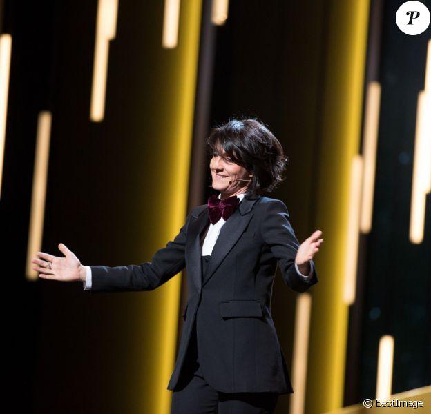 Florence Foresti (maîtresse de cérémonie) - 41e cérémonie des César au Théatre du Chatelet à Paris le 26 février 2016