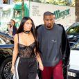 Kim Kardashian et Kanye West pendant la fashion week à Paris le 29 septembre 2016. © Agence / Bestimage