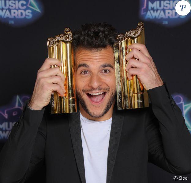 Amir aux NRJ Music Awards 2016, le 12 novembre à Cannes.