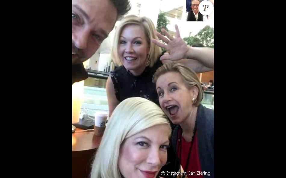 Réunion des acteurs de Beverky Hills : 90210 samedi 12 novembre 2016 à Chicago.