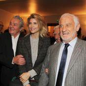 Alain Delon et Jean-Paul Belmondo : Deux amis réunis devant Alice Taglioni