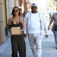 Bobby Brown et sa femme Alicia Etheredge se rendent chez le médecin à Beverly Hills. Los Angeles, le 20 octobre 2016.