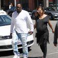 Bobby Brown et sa femme Alicia Etheredge, enceinte, se rendent chez le médecin à Beverly Hills, le 3 mai 2016.