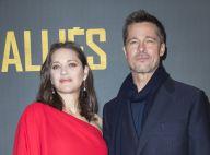 Marion Cotillard : Enceinte et furieusement glamour au bras de Brad Pitt à Paris