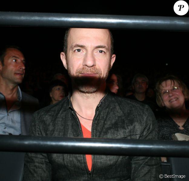Calogero - People au concert de Michel Polnareff à l'AccorHotels Arena de Paris le 7 mai 2016.