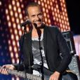 """Exclusif - Le chanteur Calogero - Enregistrement de l'émission """"La Chanson de l'Année, Fête de la Musique"""" à Nîmes, le 19 juin 2015, présentée par Nikos Aliagas pour la chaîne de télévision TF1."""