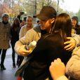 Justin Bieber rencontre des fans avant son concert à Zagreb. Croatie, le 11 novembre 2016