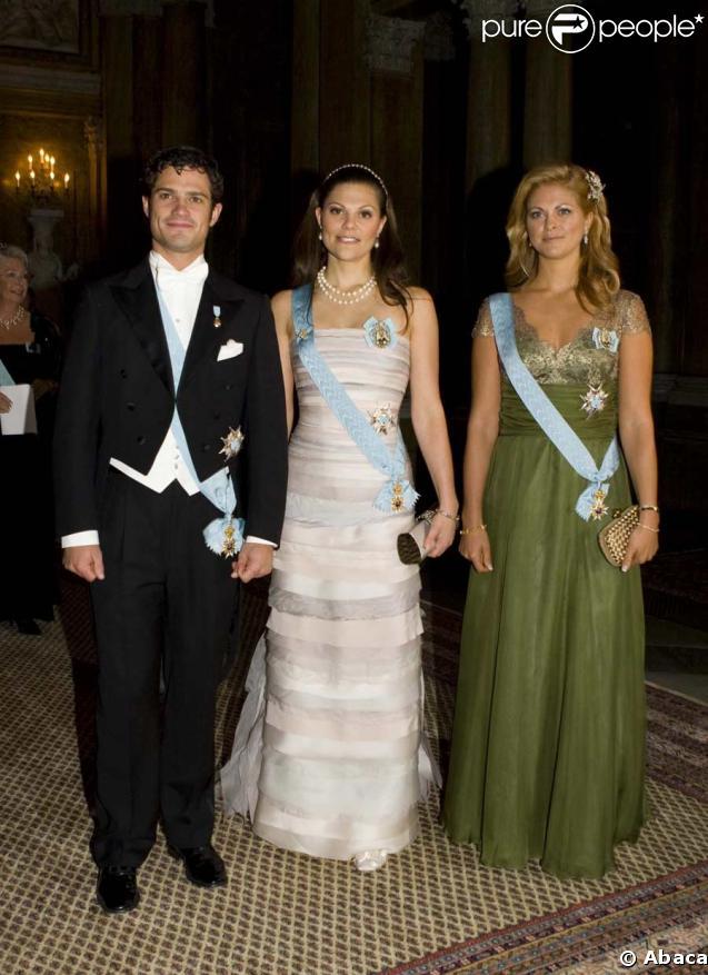 Carl Philip, Victoria et Madeleine de Suède