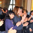Carla Bruni au 9e Sommet des prix Nobel de la paix