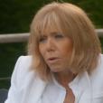 """Brigitte Macron dans """" Emmanuel Macron, la stratégie du météore """", un documentaire de Pierre Hurel pour France 3, disponible en replay."""