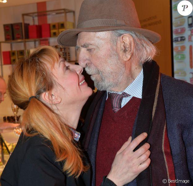 Exclusif - Julie Depardieu et Jean-Pierre Marielle - Fauchon célèbre ses 130 ans, place de la Madeleine à Paris, France, le 24 novembre 2016.© Veeren/Bestimage