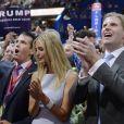 Donald Trump Jr., Ivanka et Eric Trump à Cleveland, le 19 juillet 2016.