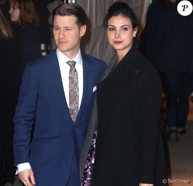 Benjamin Mckenzie et sa compagne Morena Baccarin au 26ème IFP Gotham Independent Film Awards à New York, le 28 novembre 2016.