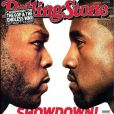 50 Cent et Kanye West en couverture de Rolling Stone. Septembre 2017.