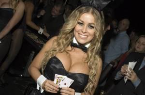 PHOTOS : La superbe Carmen Electra a fêté les 55 ans de Playboy... avec ses arguments très sexy !