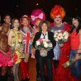 Exclusif - La troupe du cabaret parisien (l'artishow) et Sabine Paturel - La Nuit des Follivores / Crazyvores au Bataclan à Paris, France, le 3 décembre 2016. © Baldini/Bestimage
