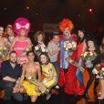 Exclusif - La troupe du cabaret parisien (l'artishow) - La Nuit des Follivores / Crazyvores au Bataclan à Paris, France, le 3 décembre 2016. © Baldini/Bestimage