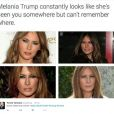 Melania Trump moqué sur Twitter.