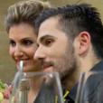 """Caroline Ithurbide et Hugo dans """"L'Amour Food"""" le 5 décembre 2016 sur C8."""