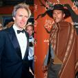Clint Eastwood et son fils Scott (photomontage)