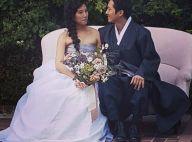 Steven Yeun de la série The Walking Dead : Jeune marié et futur papa