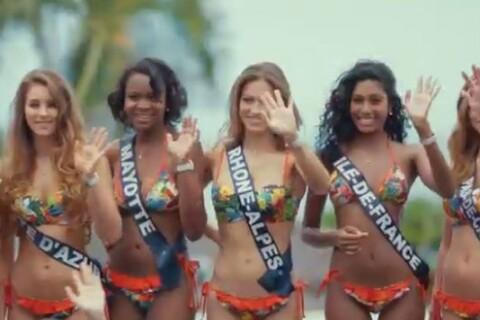 Miss France 2017 : Poses en bikini, canyoning... coulisses de leur séjour de rêve