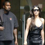 Kim Kardashian dément vouloir divorcer de Kanye West